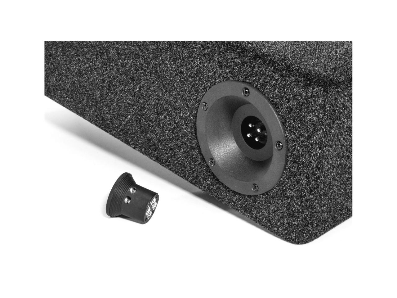 iSOtec SUB t2 | Doppel-Woofer | für die Reserverad-Mulde | 2 Ohm | BT-V