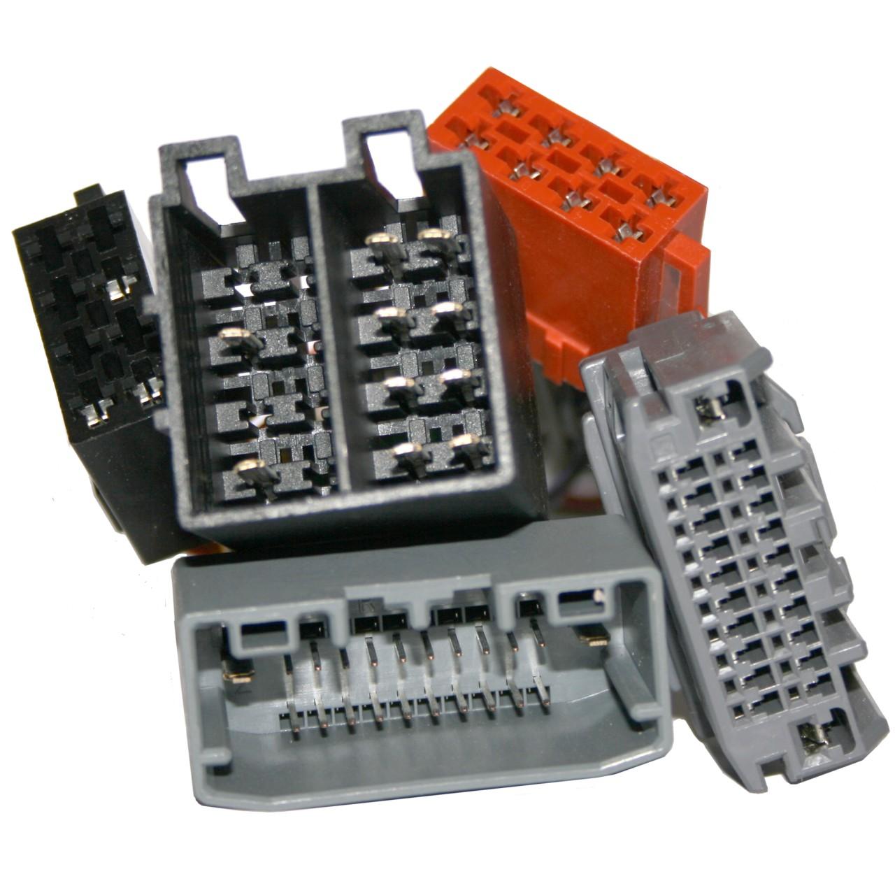 ISO2CAR Radio-Adapter | AD102B | für Chrysler und andere Fahrzeuge