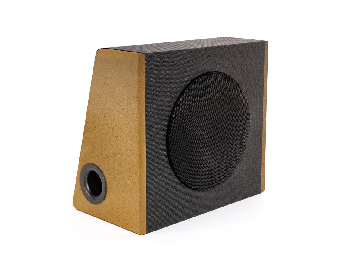 SUB c - nature edition | Kofferraum-Woofer 120 Watt | 4 Ohm | Bassreflex