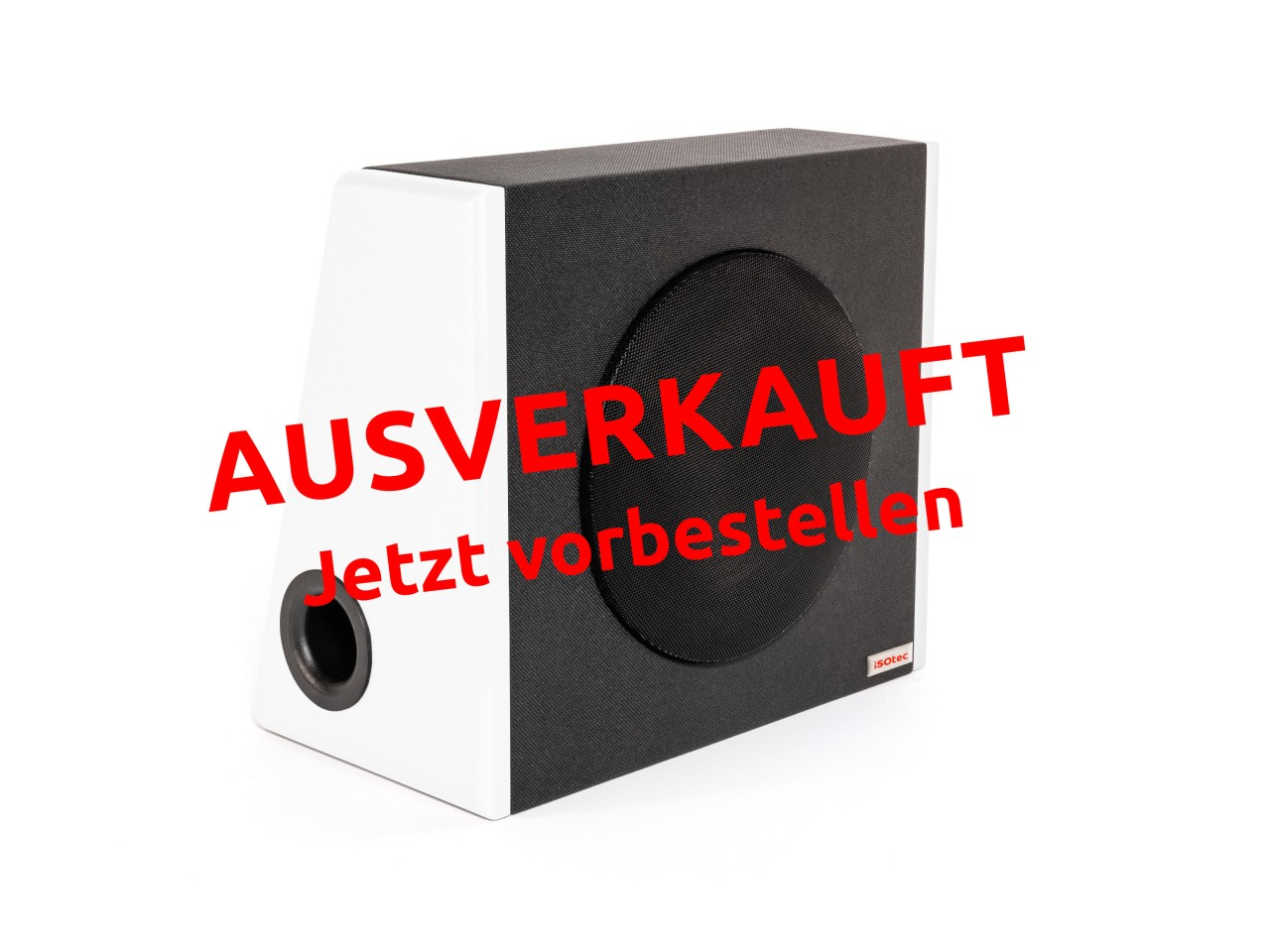 SUB c | Kofferraum Woofer | 20cm 120 Watt 4 Ohm | White Edition