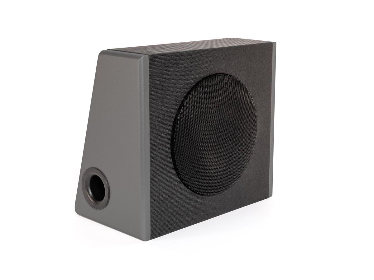 SUB c - dark grey edition | Kofferraum-Woofer 120 Watt | 91,5 dB / 1W / 1m