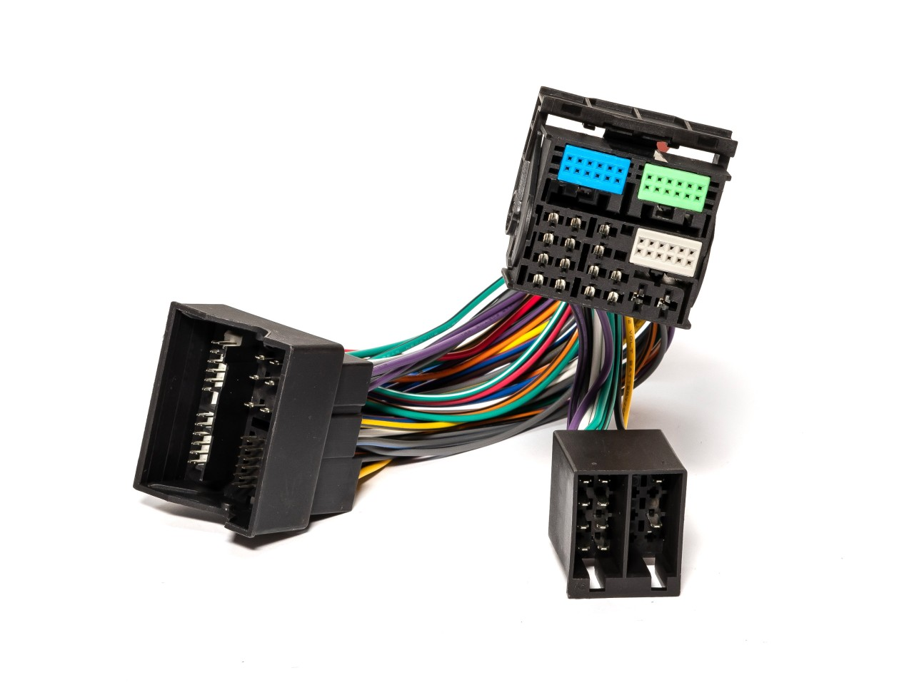 ISO2CAR Radioadapter   AD123VW3   Vollbelegung   für VW, Audi & andere Fahrzeuge