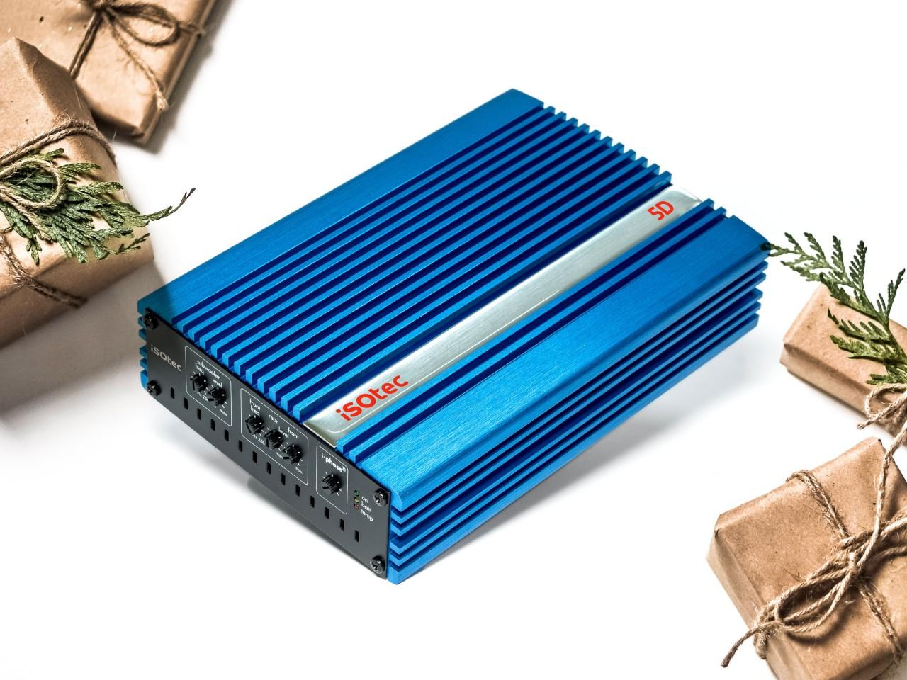 5D Digital-Verstärker 470 Watt ohne Radioadapter