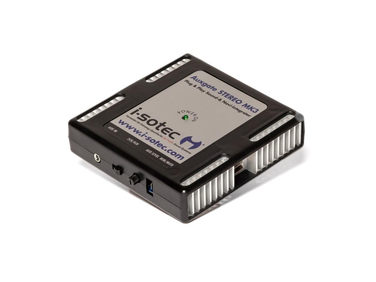 Auxgate Stereo | Mini-Verstärker mit Aux-Input | für iPhone, MP3, portable Navigation & Andere Geräte