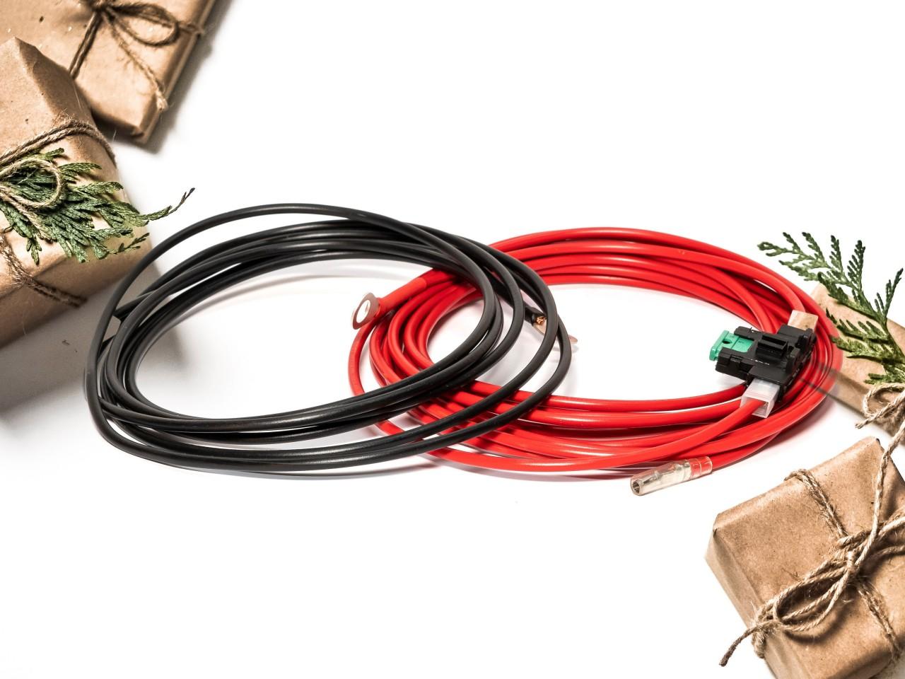 AD125 | 12V Zusatz-Spannungsversorgung | 2x4qm mit Sicchungshalter 30A