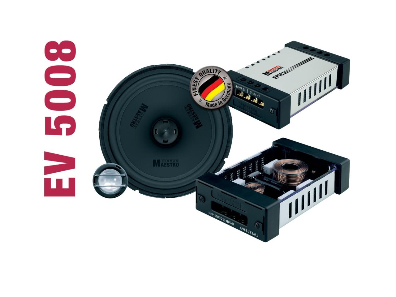 EPIC 2-Wege-Kompo./Koaxial-System EV5008 | German Maestro