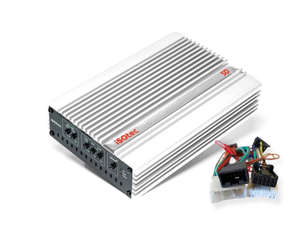 iSOtEc | 5D Car-Hifi-Set für Toyota Yaris FL | AD104B | ISO2CAR Radio-Adapter | plug & pay