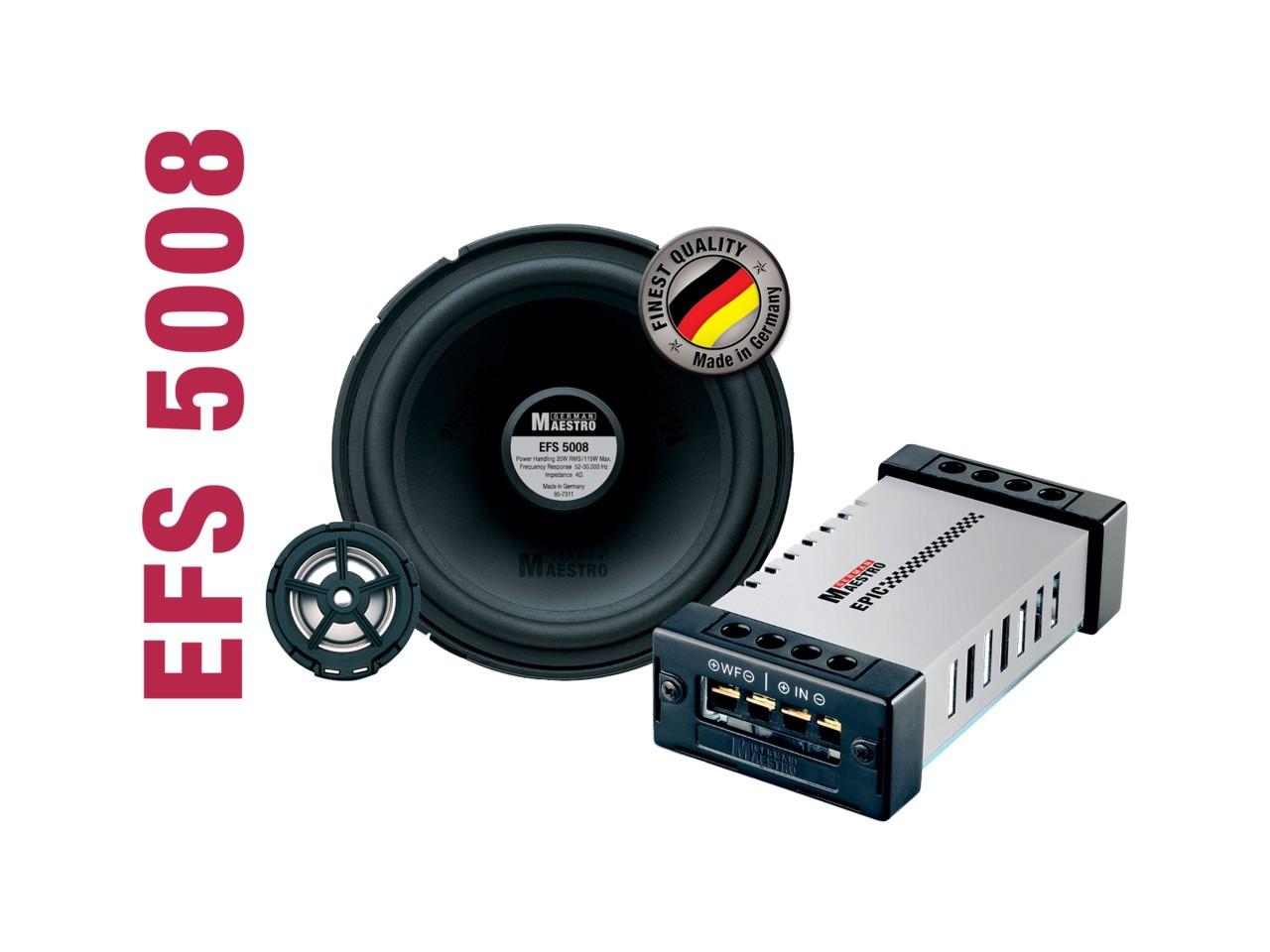 EPIC 2-Wege-Kompo-System EFS5008 | German Maestro