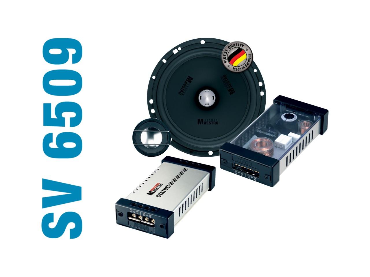 STATUS SV6509   2-Wege-Kompo./Koaxial-System   German Maestro