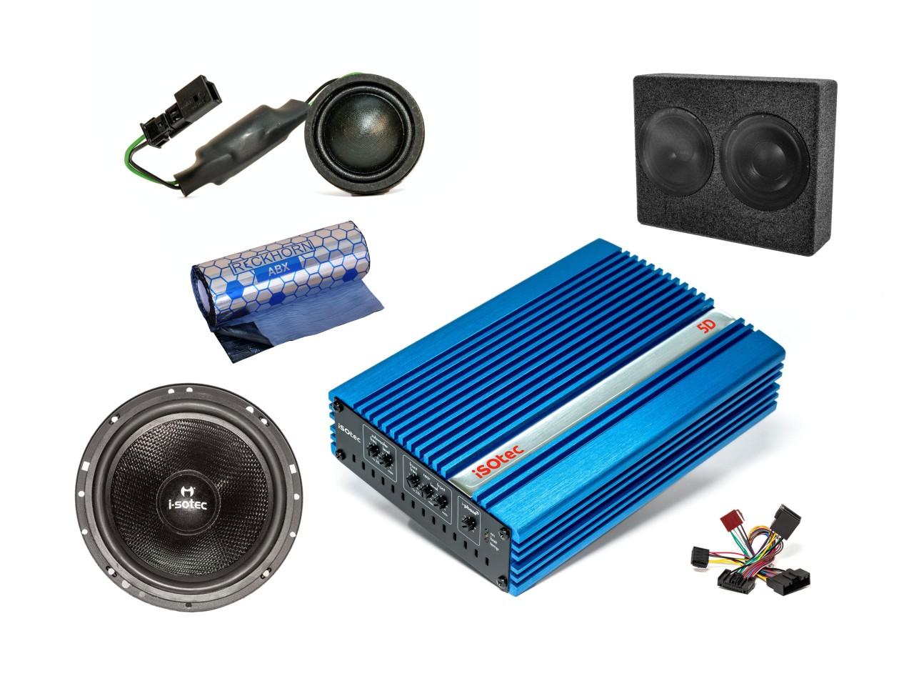 Kia Picanto Car-Hifi-Set | Verstärker | Woofer | Speaker