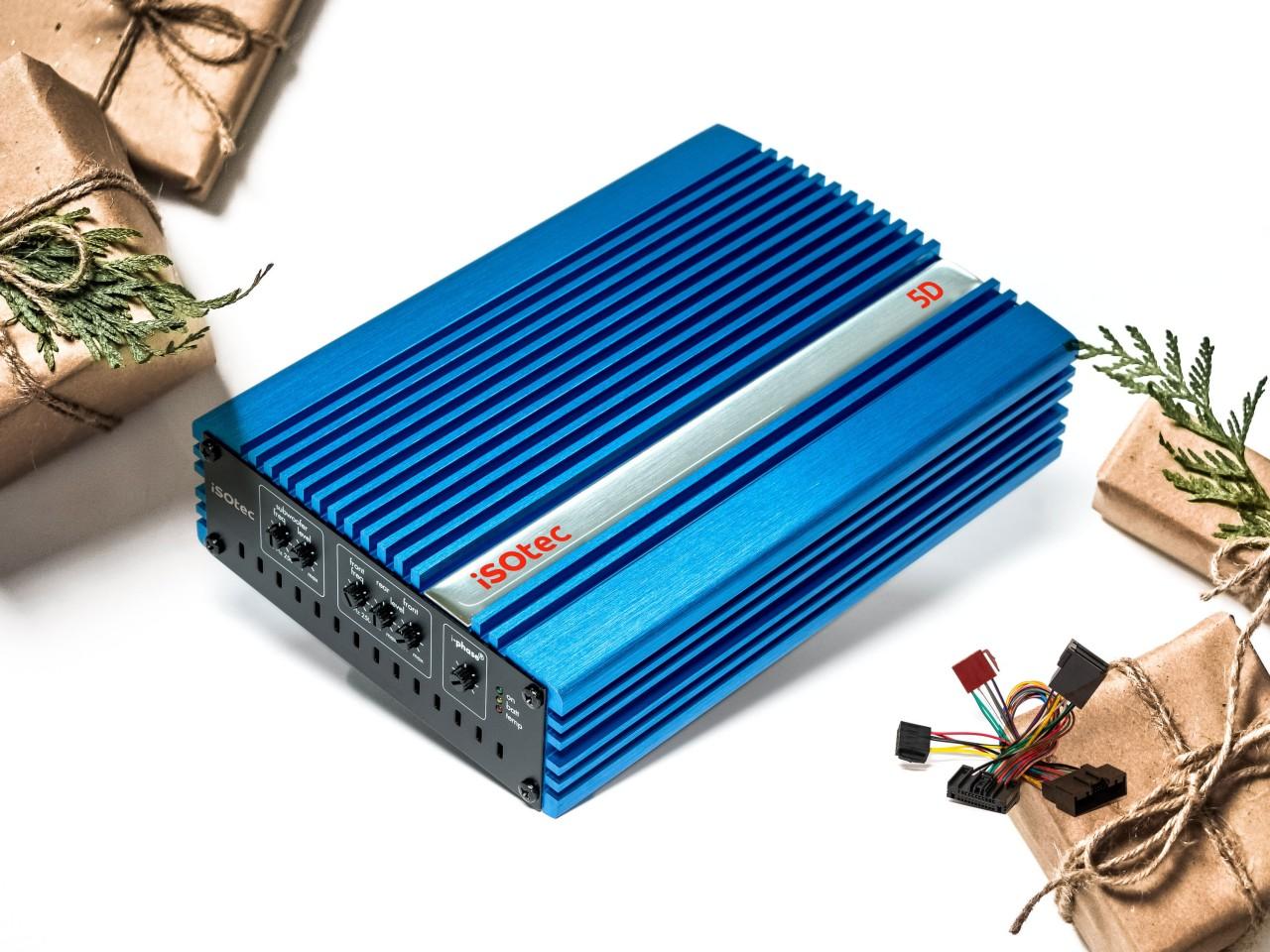 5D   Digital-Verstärker 470 Watt mit Radioadapter   plug & play