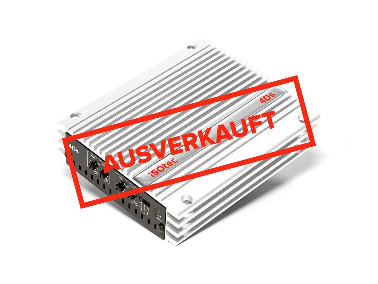Car-HiFi Endstufe 4Ds special white edition - bereits AUSVERKAUFT