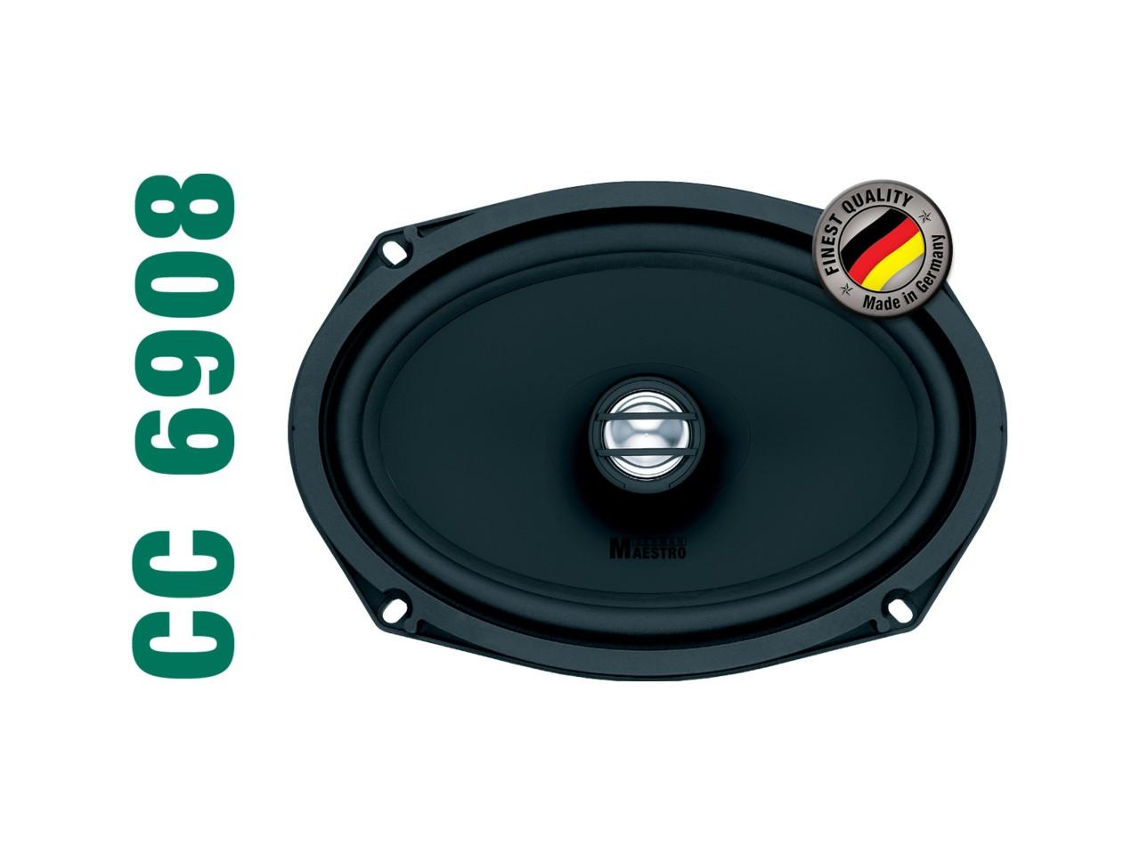 "CONCEPT CC6908 | 2-Wege Coaxial-Speaker 6x8"" | German Maestro"