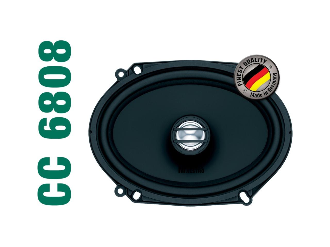 "CONCEPT CC6808 | 2-Wege Coaxial-Speaker 6x8"" | German Maestro"