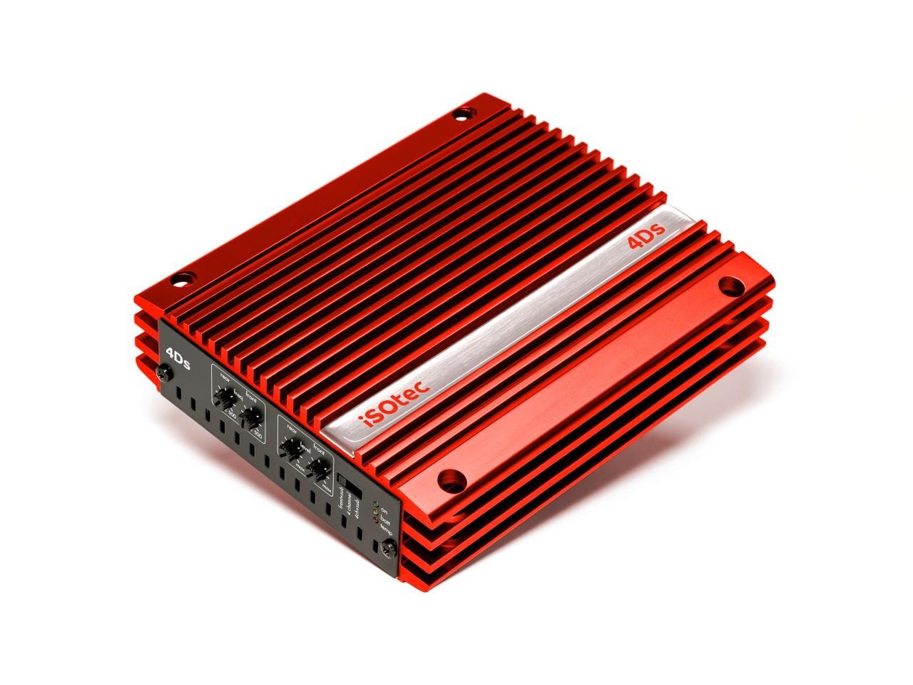 4Ds Red Edition 400 Watt Endstufe