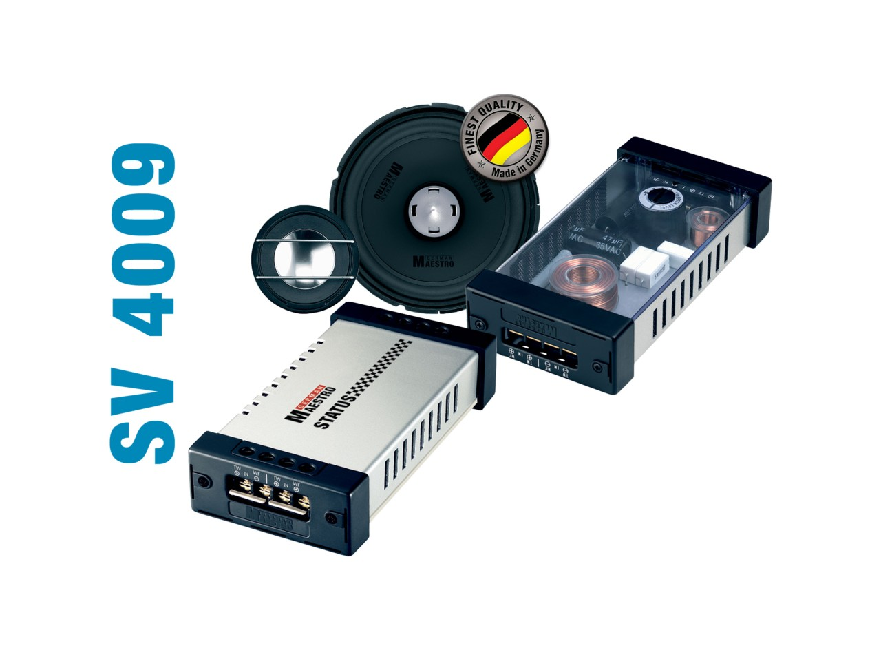 STATUS SV4009 | 2-Wege-Kompo./Koaxial-System | German Maestro