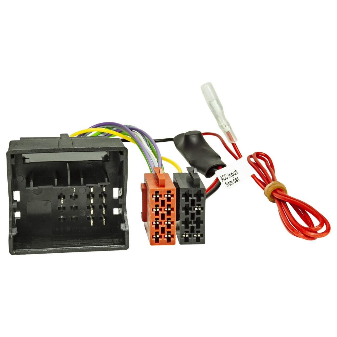 Power Stabilisator Start Stop Quadlock Stecker ISO Kupplung