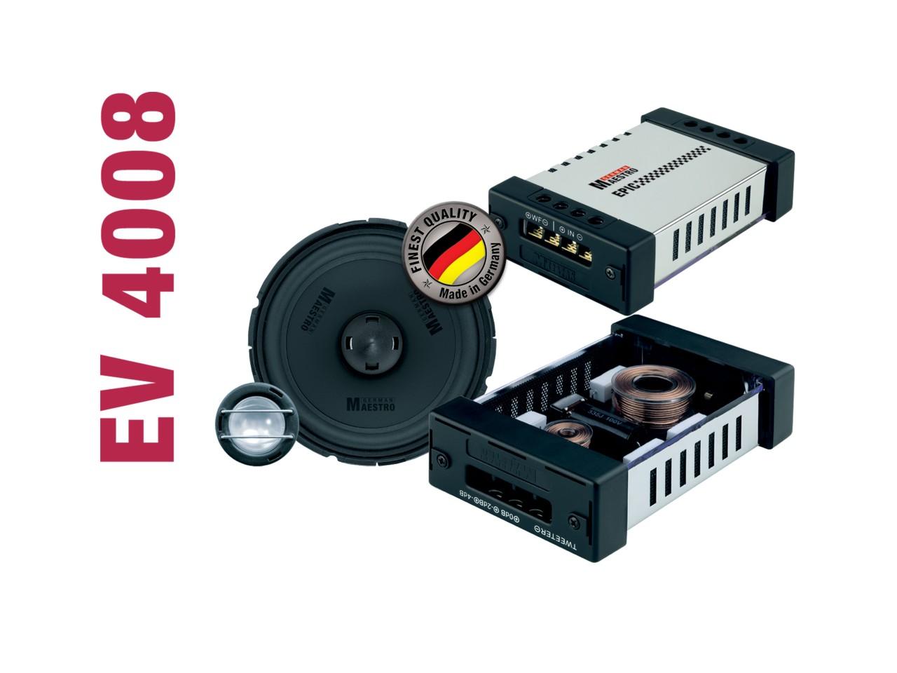 EPIC 2-Wege-Kompo./Koaxial-System EV4008 | German Maestro