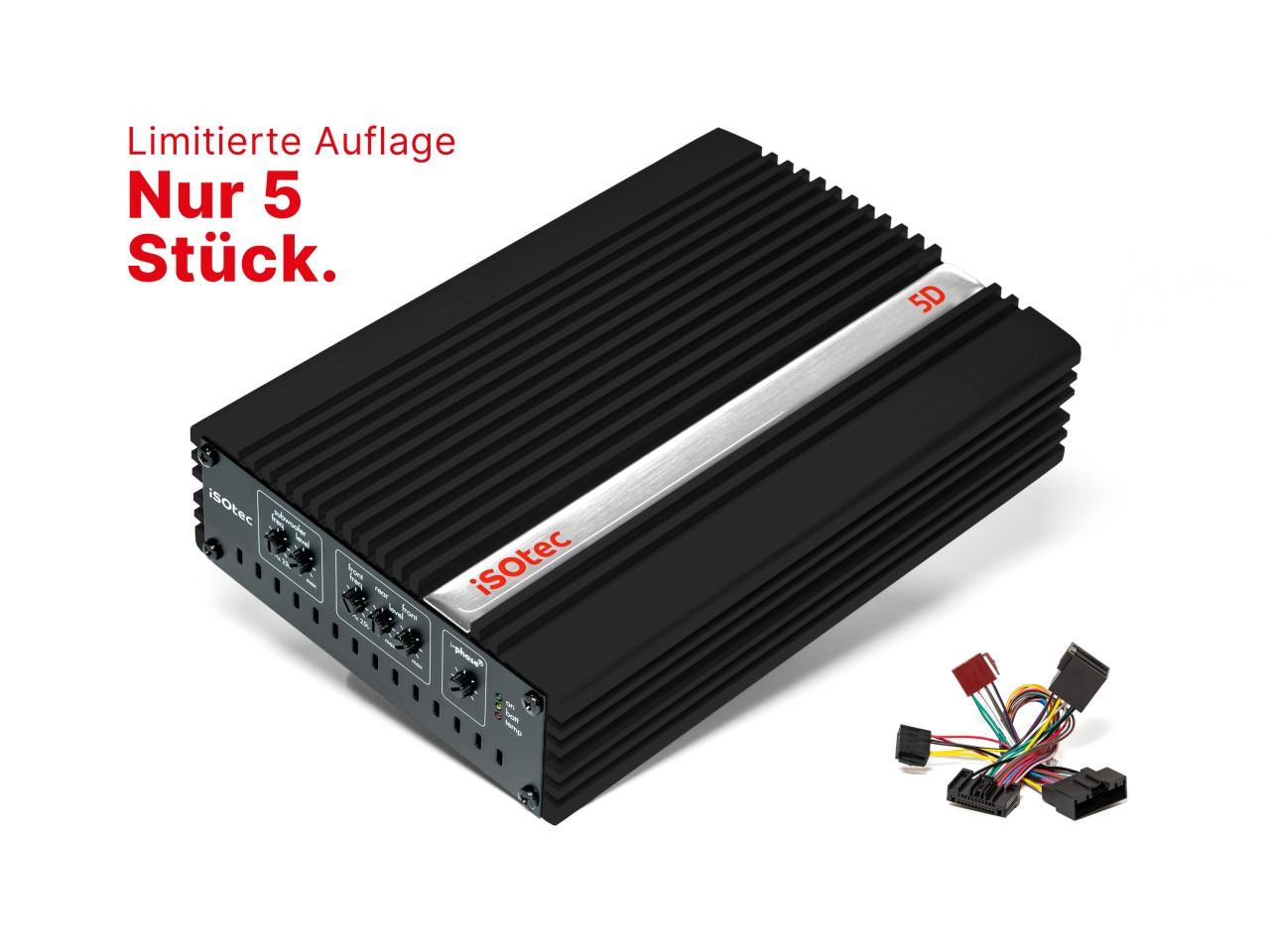 470 Watt Digital Verstärker in limitierter Black Edition