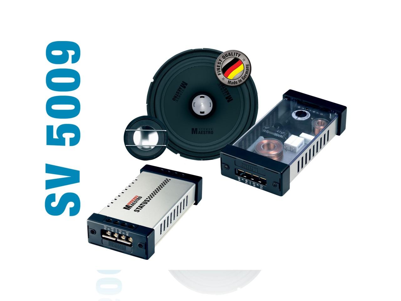 STATUS 2-Wege-Kompo./Koaxial-System SV5009 | German Maestro