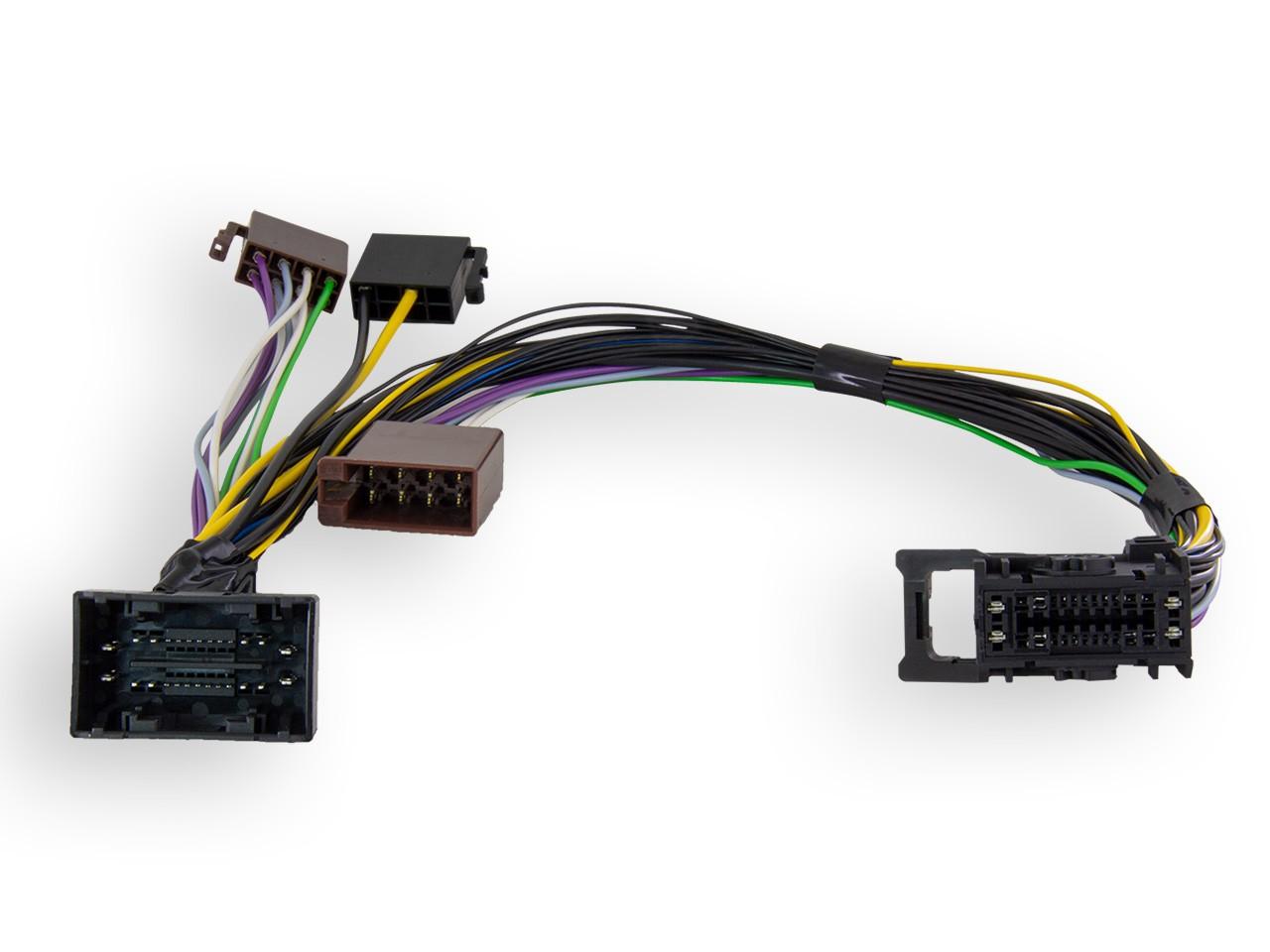 AD-MBux | ISO2CAR Radio-Adapter | für MBux Multimediasystem von Mercedes Benz
