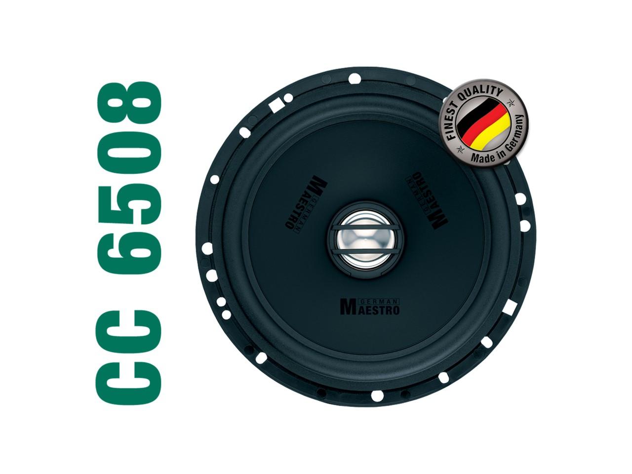 CONCEPT CC6508 | 2-Wege Coaxial-Sepaker 160mm | German Maestro