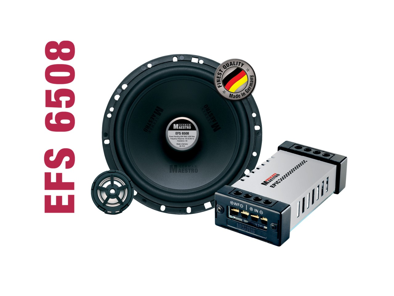 EPIC 2-Wege-Kompo-System EFS6508 | German Maestro
