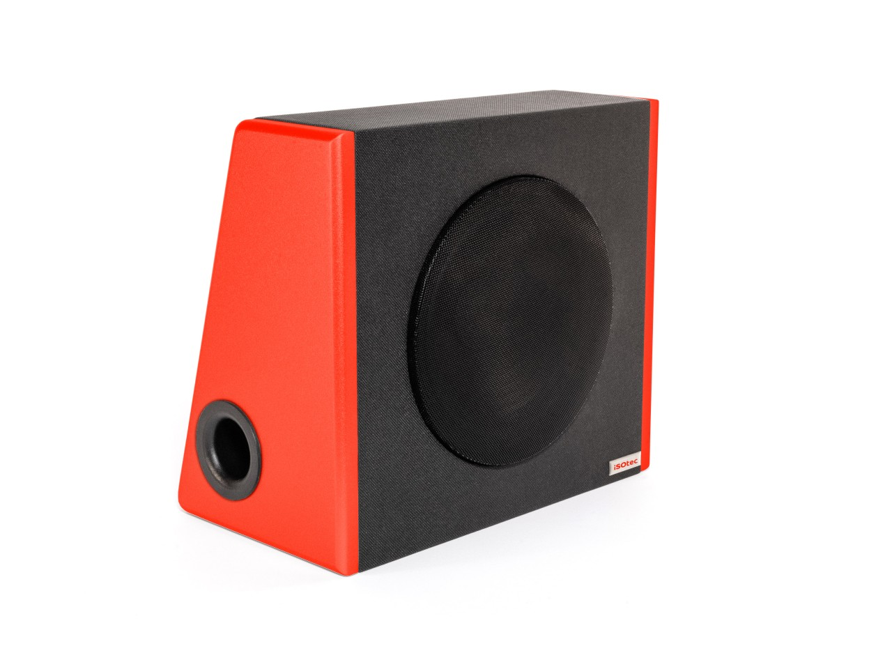 SUB c | Kofferraum Woofer | Limited Neon Red Edition