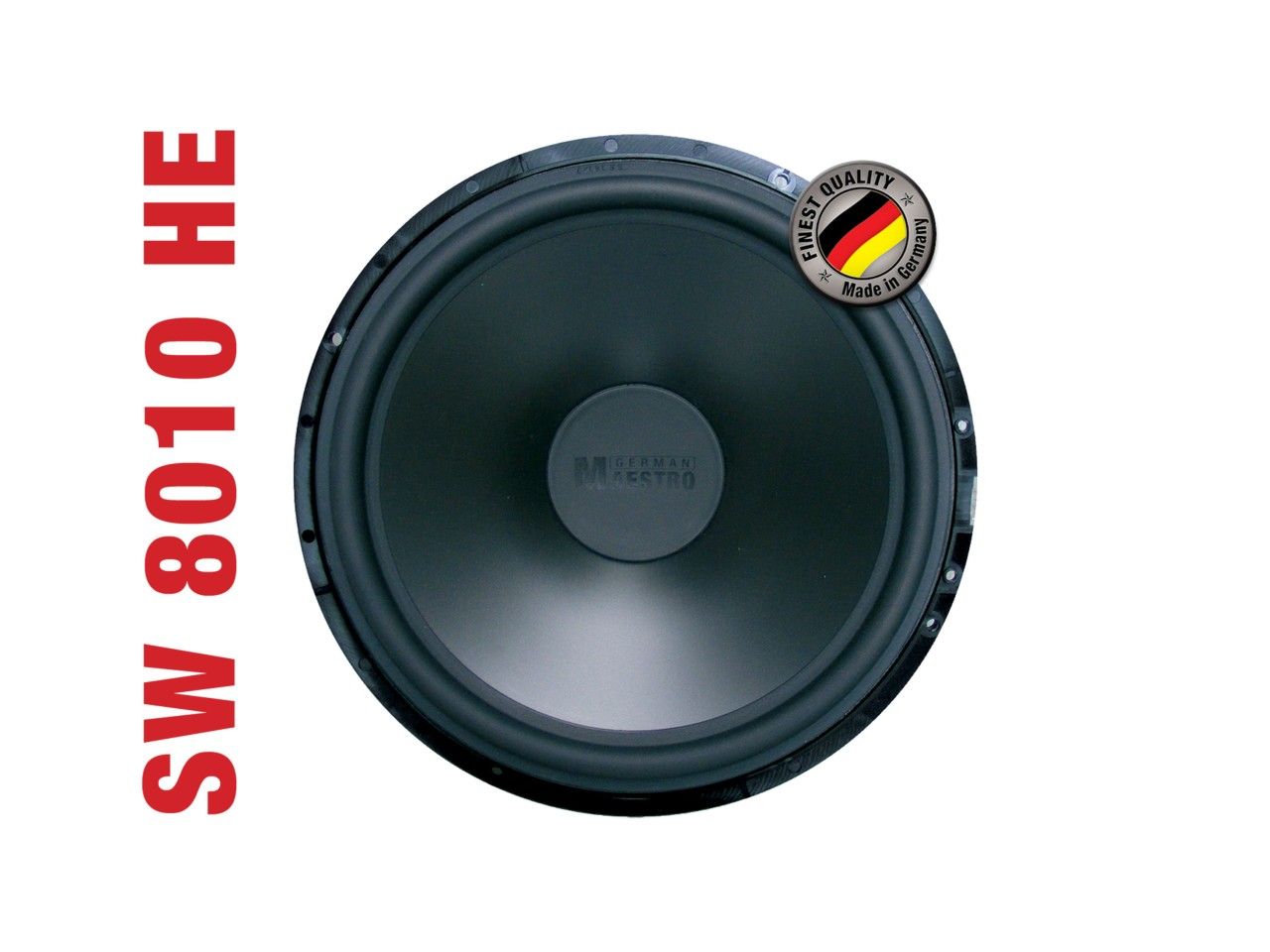 "SWF8010HE Woofer 10"" | German Maestro | 120 Watt RMS | 93dB"