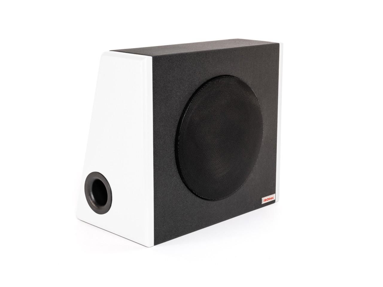 SUB c | Kofferraum Woofer | 20cm 120 Watt 4 Ohm | White Edition