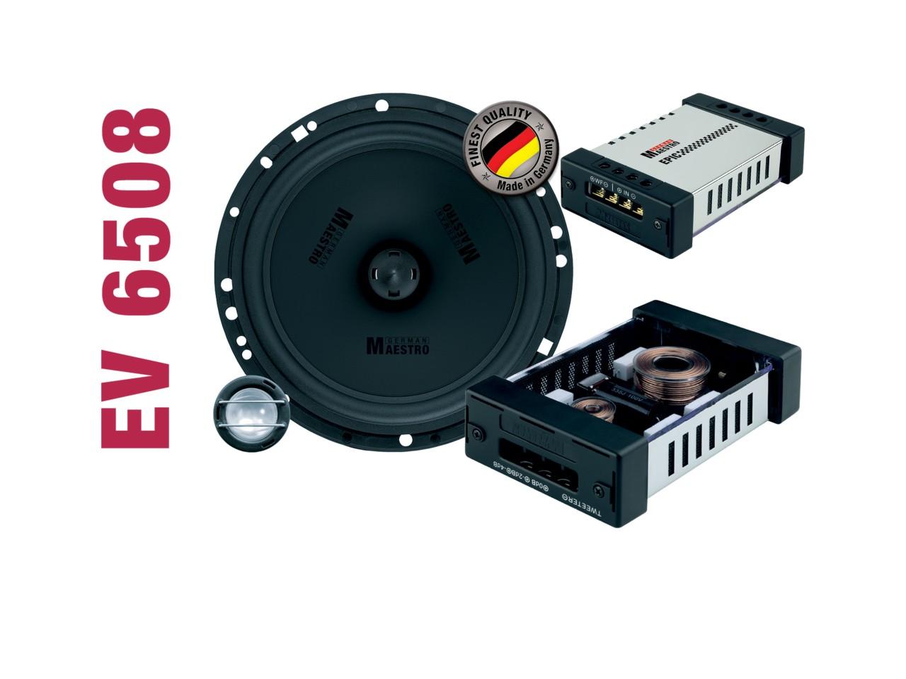 EPIC 2-Wege-Kompo./Koaxial-System EV6508 | German Maestro